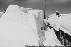 作品画像:豪雪の町