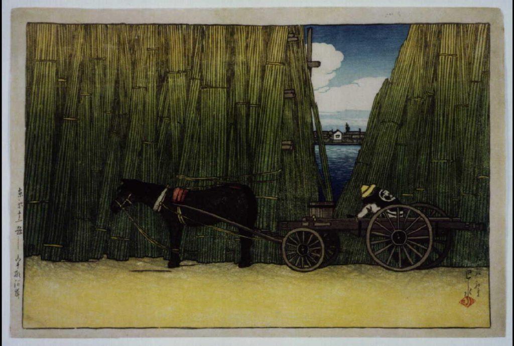 作品画像:東京十二題 駒形河岸