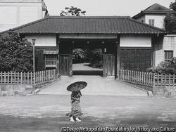 作品画像:武家屋敷の門