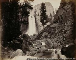作品画像:ピヤック、ヴァーナル滝、300フィート、ヨセミテ