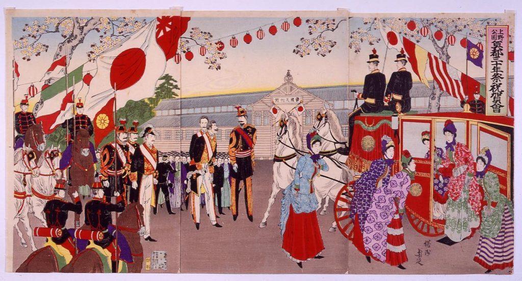作品画像:上野公園奠都三十年祭祝賀会