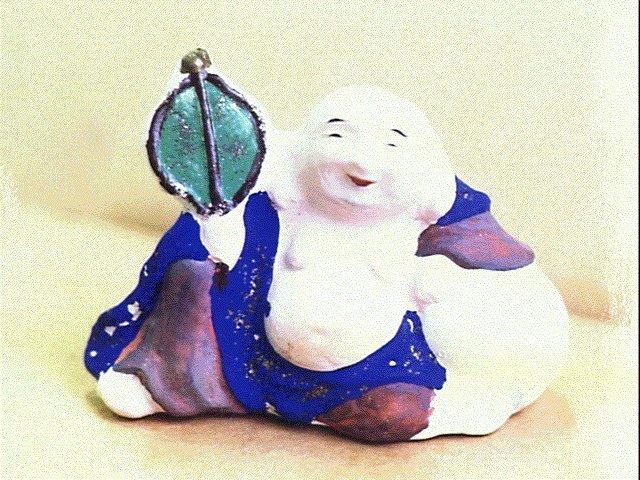 作品画像:今戸人形 布袋
