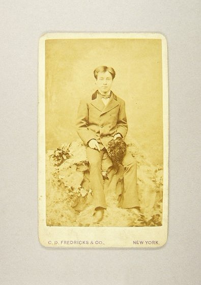 作品画像:川村清雄肖像(ニューヨークにて)