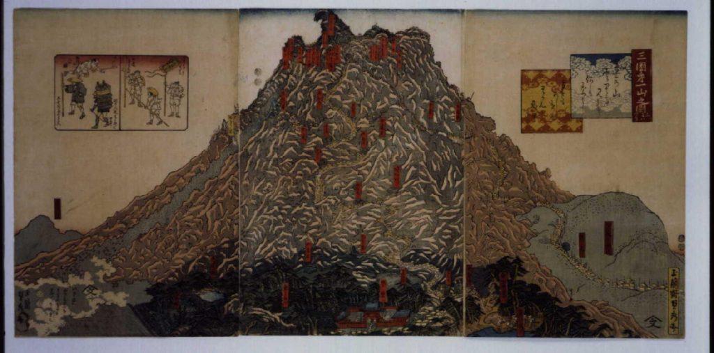 作品画像:三国第一山之図