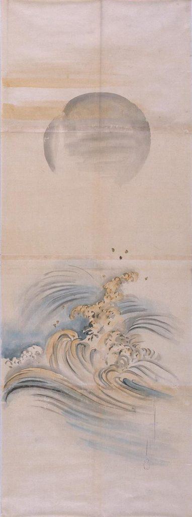 作品画像:粉本 昇日立浪