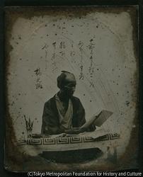 作品画像:小島当三郎光純(柳蛙の兄)肖像写真