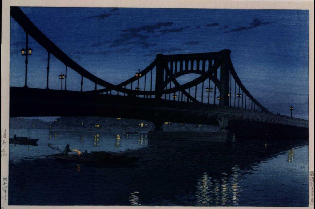 作品画像:清洲橋