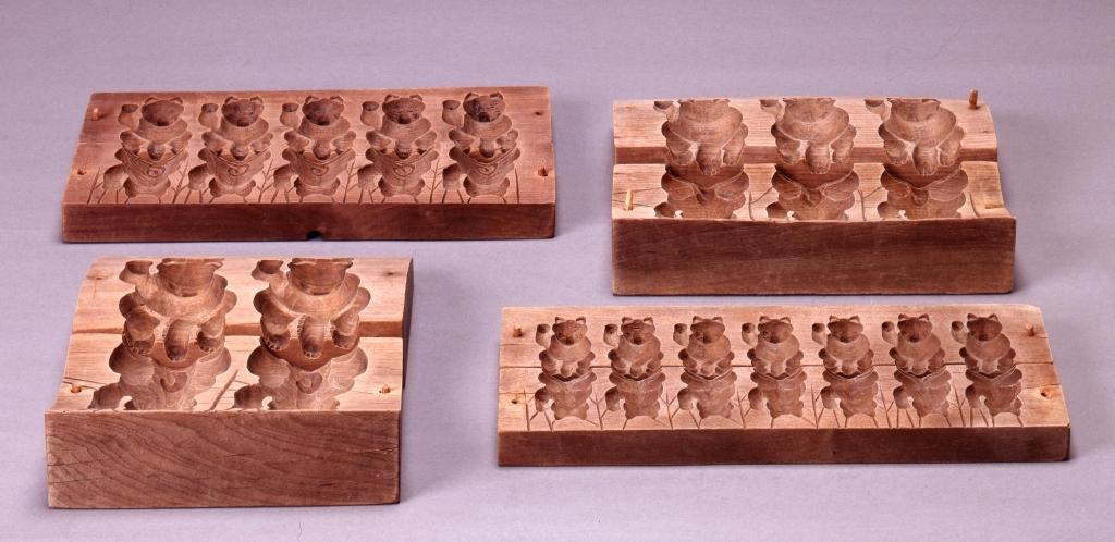 作品画像:菓子用木型 招き猫(特大)