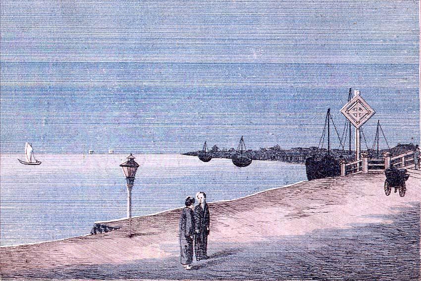 作品画像:佃島之遠景