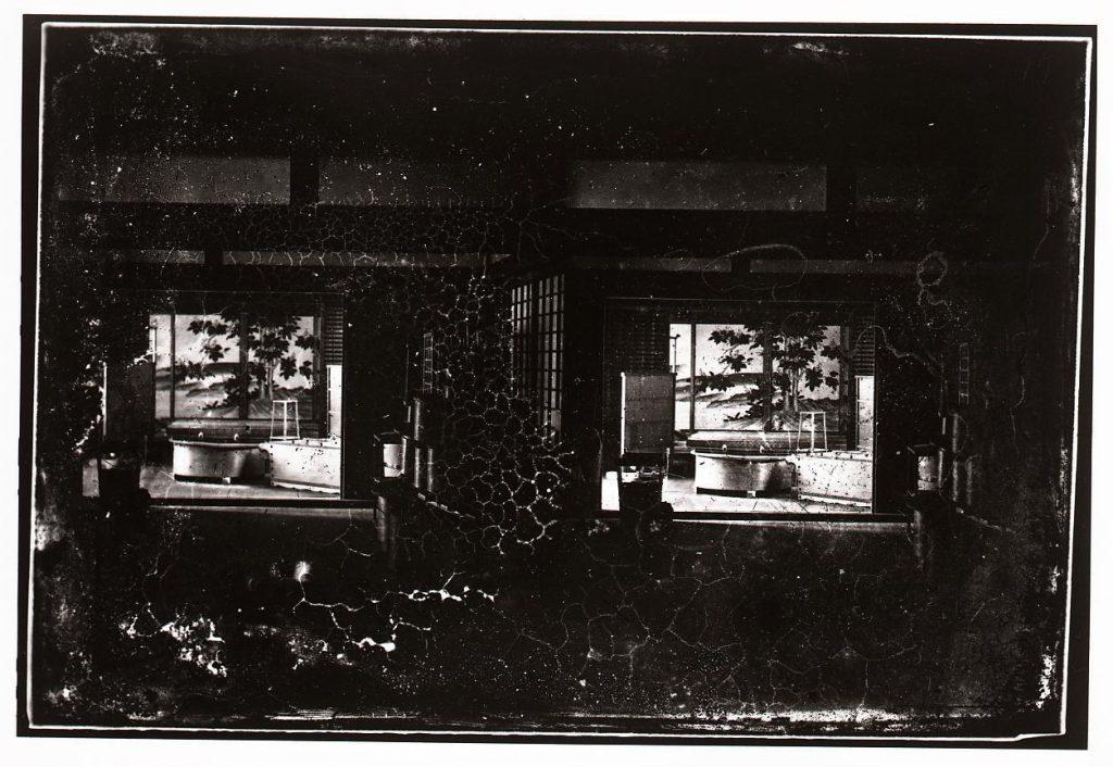 作品画像:京都御所 小御所内風呂場