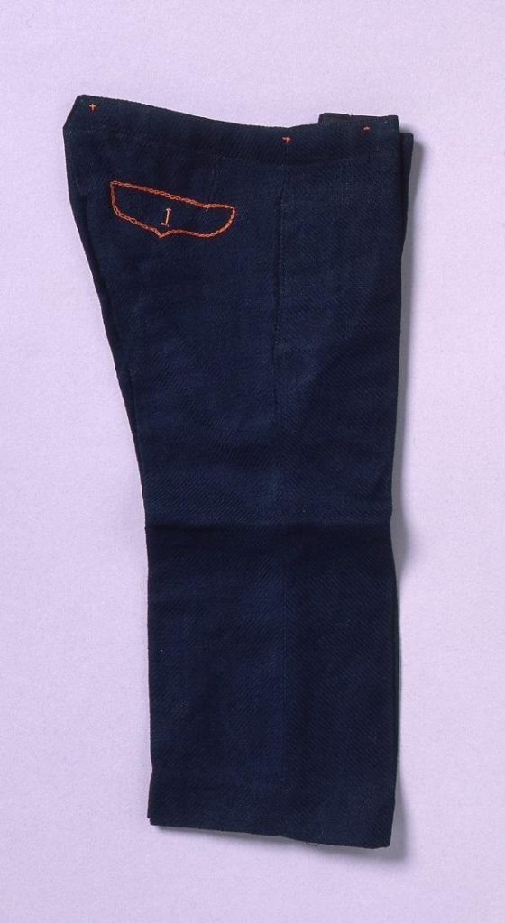 作品画像:裁縫雛形 ニーブリチエース(ミシン縫)