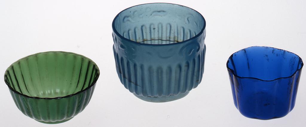 作品画像:緑色二十六弁菊型文盃