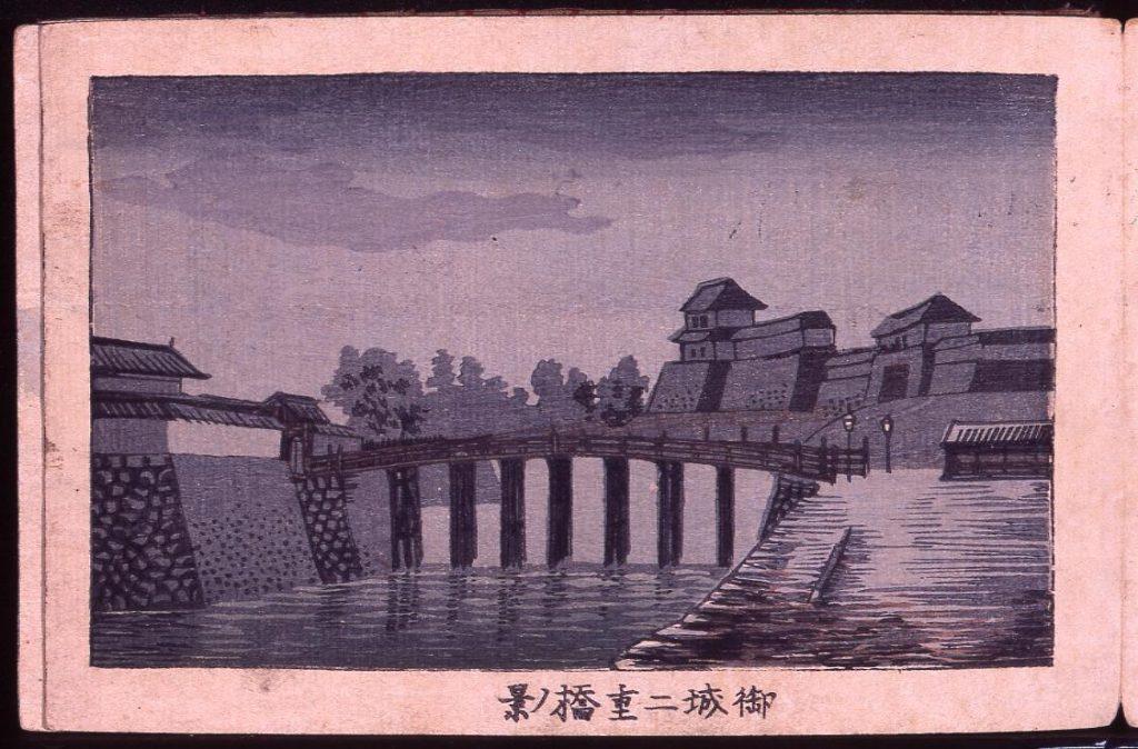 作品画像:御城二重橋ノ景
