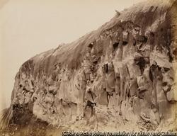 作品画像:磐梯山・噴火口断崖