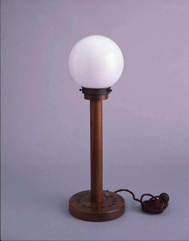 作品画像:電力管理法成立紀念 電気スタンド