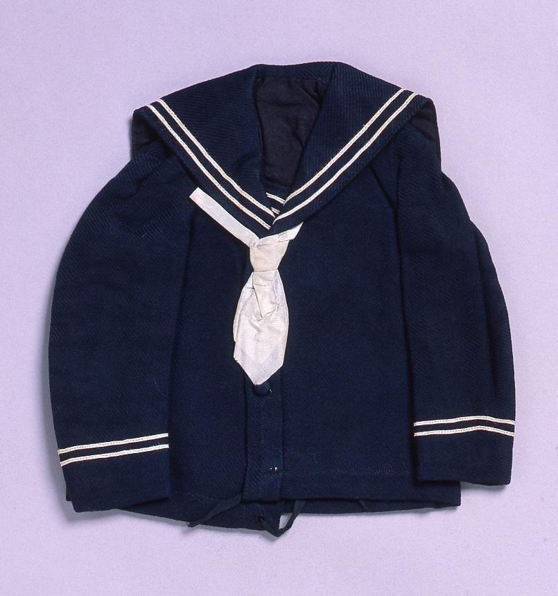 作品画像:裁縫雛形 セーラースコート(ミシン縫)