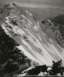 作品画像:西穂の稜線