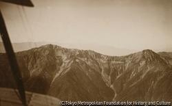 作品画像:空撮 南アルプス 大井川上流から見た霧島岳
