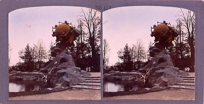作品画像:ベルン市(スイス)万国郵便連合大会紀念碑(No.417)