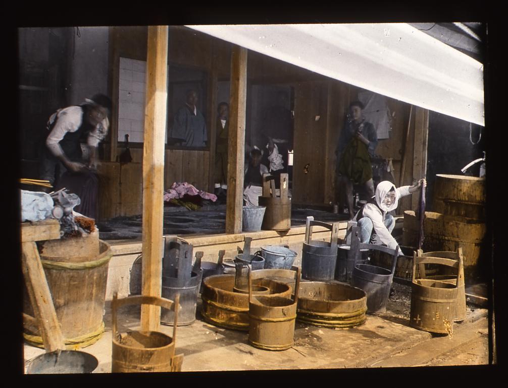 作品画像:桶職人たち