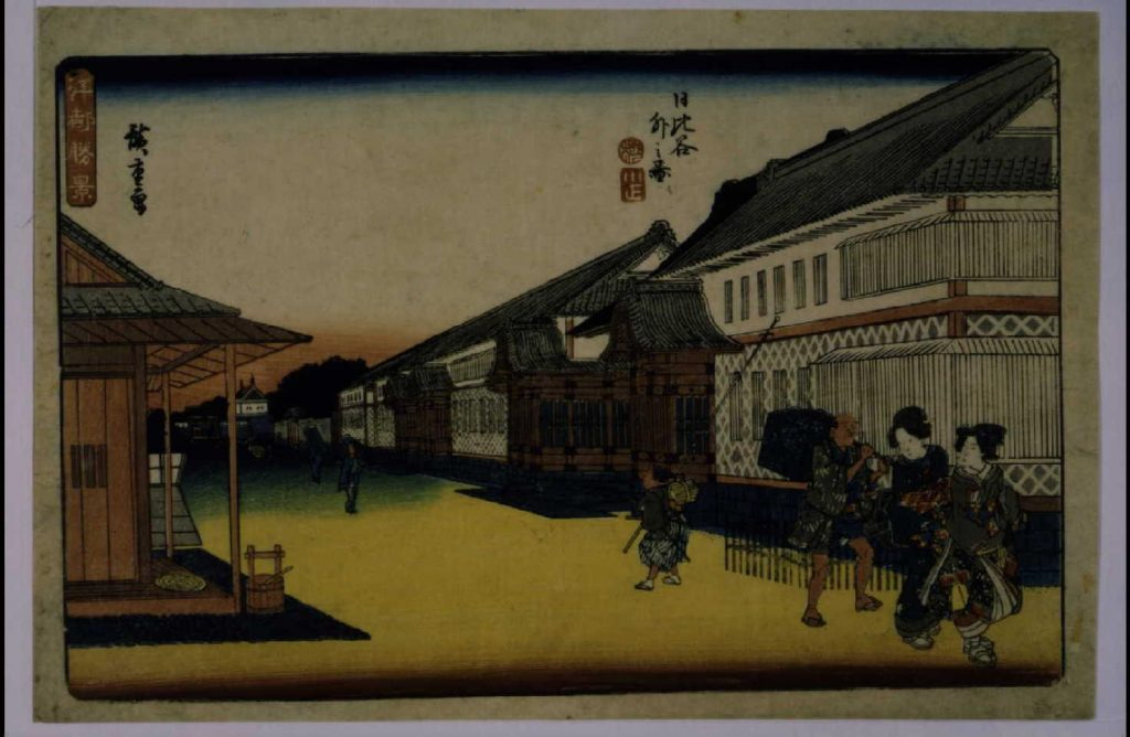 作品画像:江都勝景 日比谷外之図
