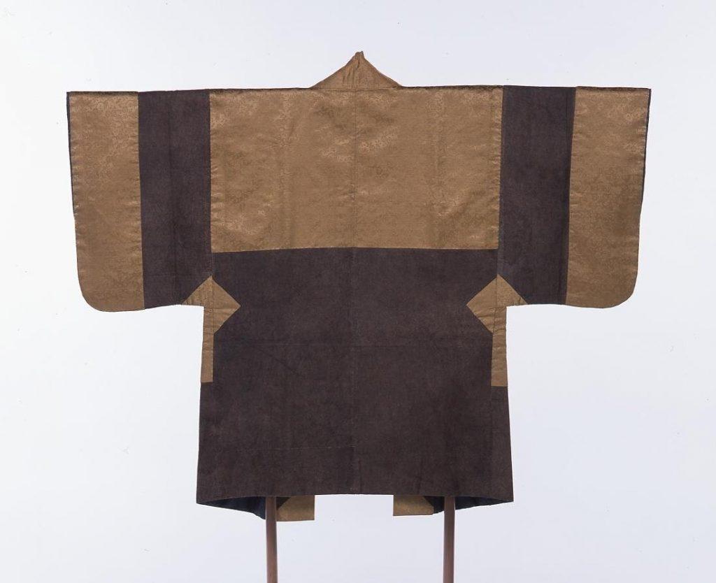 作品画像:紙衣 羽織(緞子地継合)