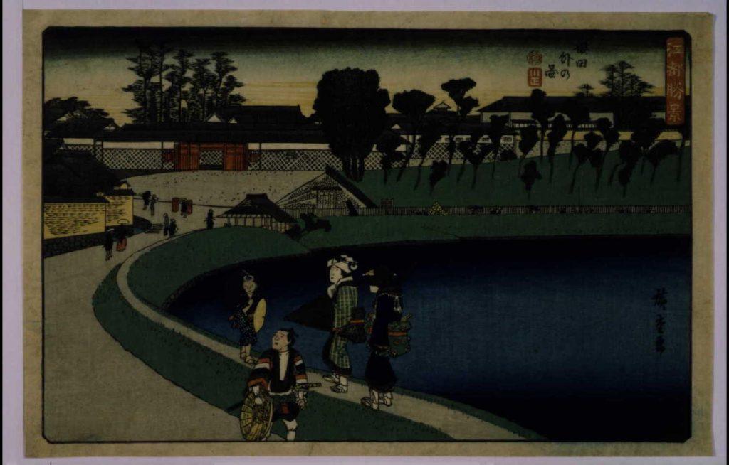 作品画像:江都勝景 桜田外の図