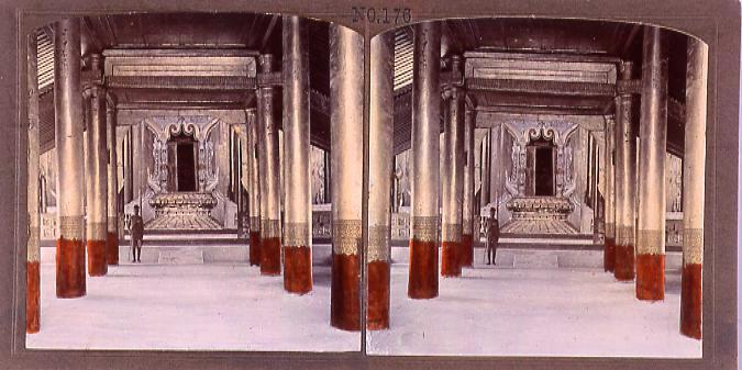 作品画像:マンダレー旧王室宮殿(No.176)