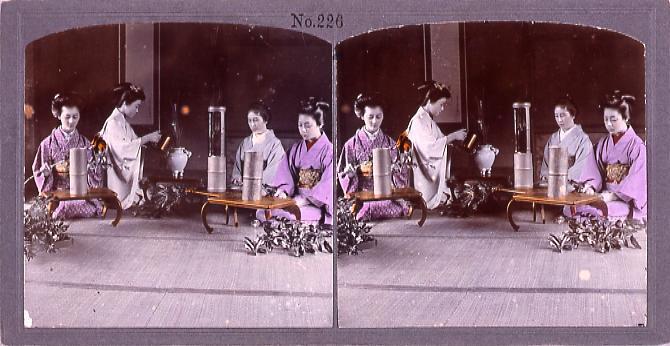 作品画像:活花のけいこ(No.226)