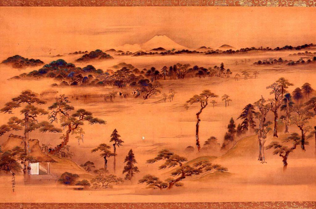 作品画像:戸山別荘両臨堂之景