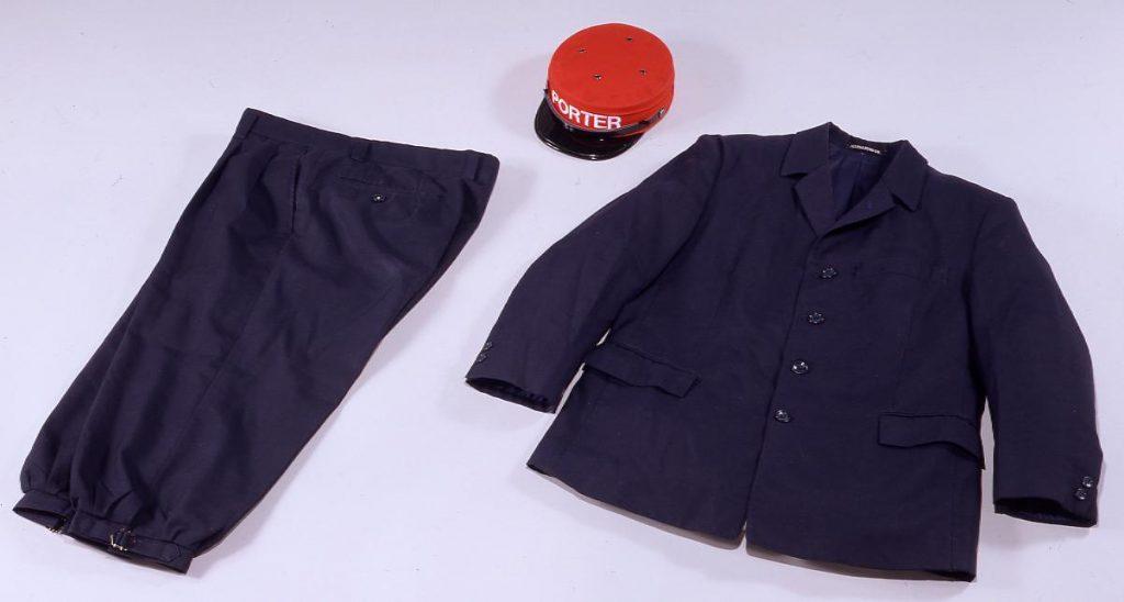作品画像:赤帽制服 上衣