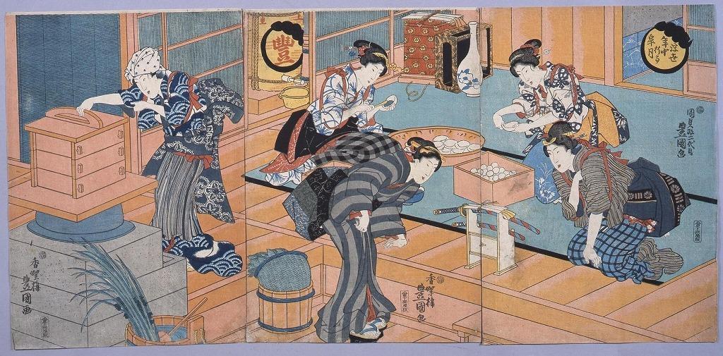 作品画像:浮世年中行事 皐月