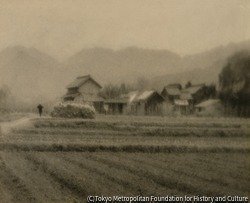 作品画像:村の風景
