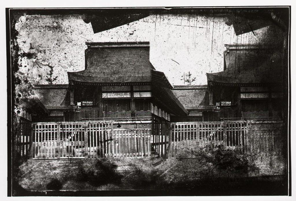 作品画像:京都御所 内侍所雲橋
