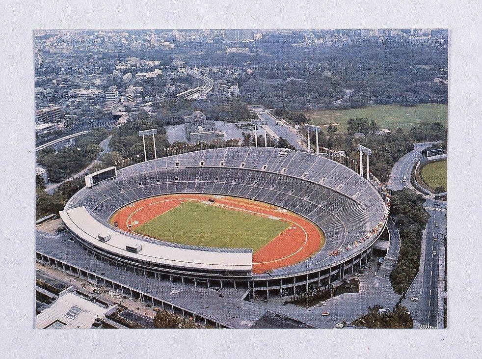 作品画像:絵葉書セット '64オリンピック東京大会 速報1