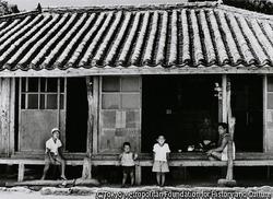 作品画像:久米島の民家