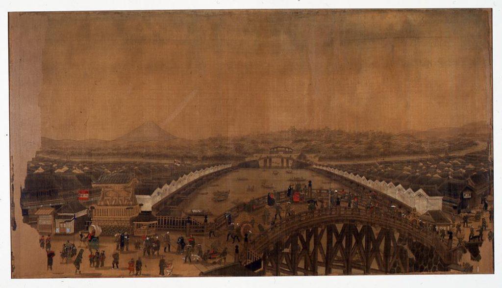 作品画像:日本橋鳥瞰図