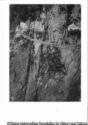 作品画像:奥仙人谷の吊り橋