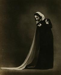 作品画像:新作舞踊-「カバレリア・ルスチカナの中のアヴェ・マリアの曲に拠りて-マスカーニ曲」