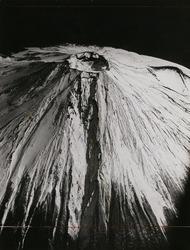 作品画像:西方上空から見た富士