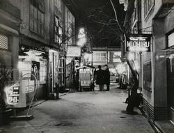 作品画像:(夜の街)
