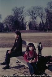 作品画像:1977 and 2009, Jardin du Luxembourg, France