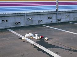 作品画像:駐車場 所沢、埼玉