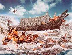 作品画像:ノアの難民