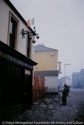 作品画像:ベルファストに投入されたイギリス軍兵士