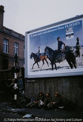 作品画像:ベルファストのカトリック地区にあるデヴィス通りのイギリス兵