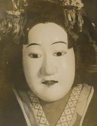 (文楽人形 「お染」文楽座)