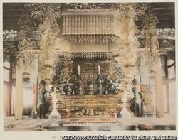 作品画像:22. 身延寺(身延山久遠寺)の内部 甲州