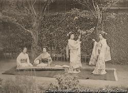 作品画像:紅葉館での紅葉踊り