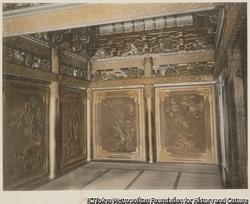 作品画像:16. 拝殿(御相の間)の内部 日光
